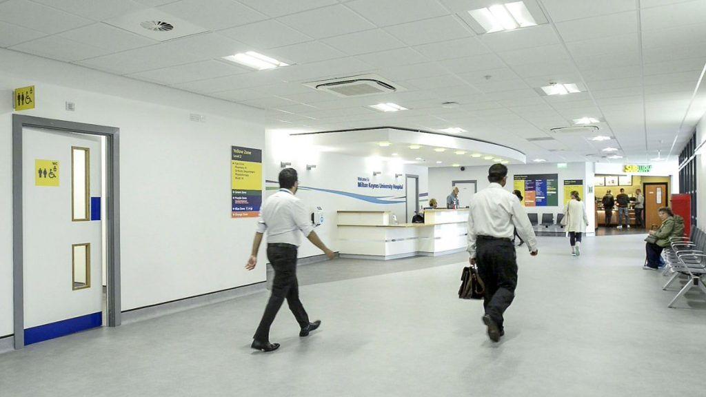 Catfoss Deliver Another Quality Nhs Retail Scheme At Milton