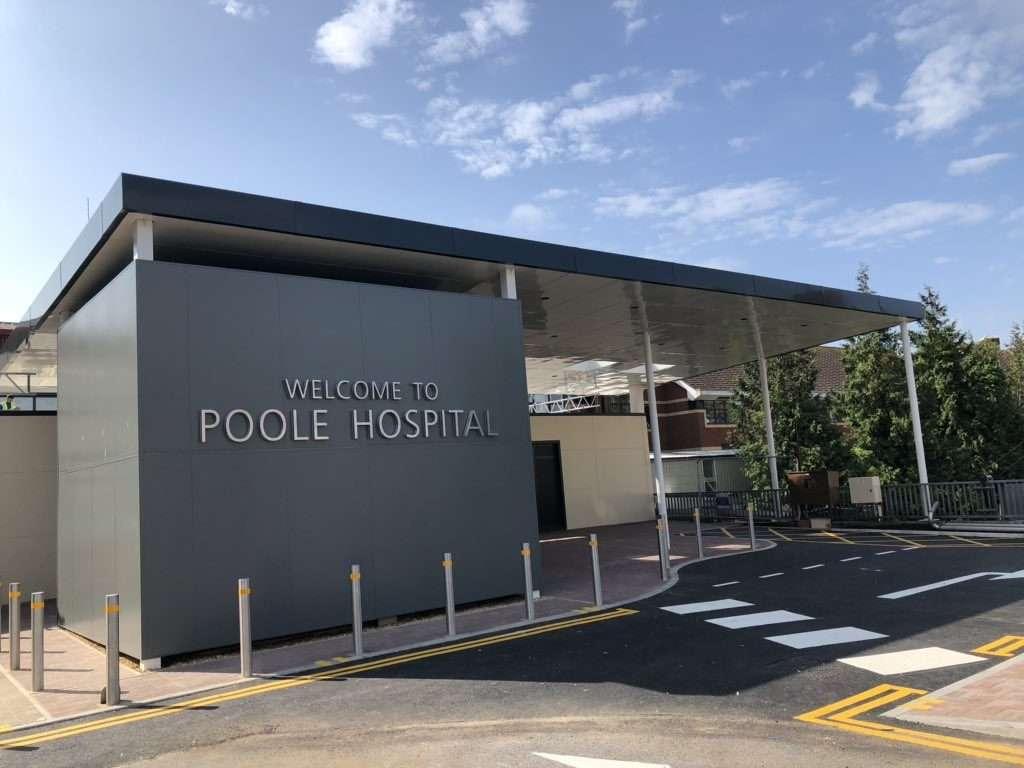 Poole Hospital Entrance